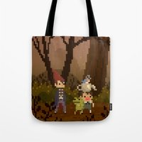 over the garden wall Tote Bags featuring Over The Garden Wall by FuliFuli