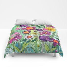 Purple Plum Parfait Comforters