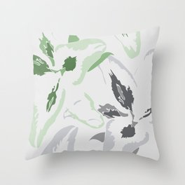 FLORAL ABSTRACTION 2 Throw Pillow