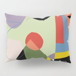 Abstract color composition V Pillow Sham