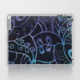 Blue Batik 12 Laptop & iPad Skin