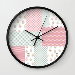 Beautiful Patch 5 Wall Clock