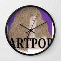 artpop Wall Clocks featuring ArtPOP. by A.S.M Designs