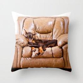 Ruff Life Throw Pillow