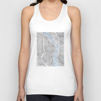 oregon Tank Tops featuring Portland Oregon by Anne E. McGraw