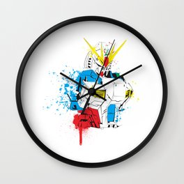 Gundam Splash Art Wall Clock