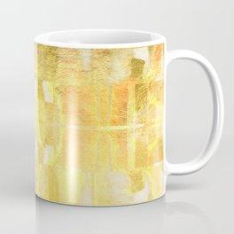 Gold Metallic Sunrise Coffee Mug