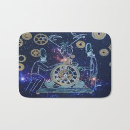Time Keepers Bath Mat
