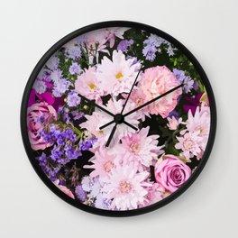 Bouquet Wall Clock