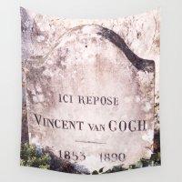 van gogh Wall Tapestries featuring Van Gogh by John Weeden