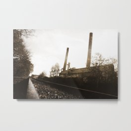 The Bleachery IV Metal Print