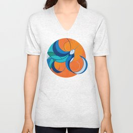 One with the sun Unisex V-Neck