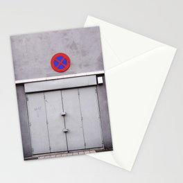 No Entry Stationery Cards