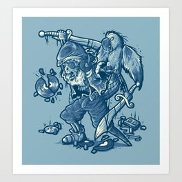 Bootleg Hunter Art Print