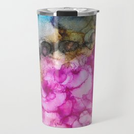 Alcohol Ink Galaxy II Travel Mug