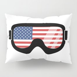 USA Goggles | Goggle Designs | DopeyArt Pillow Sham