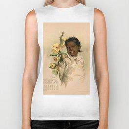 African Girl Maud Humphrey Biker Tank