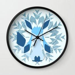 Minimal Glaceon Wall Clock