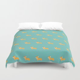 Corgi pattern Duvet Cover