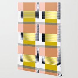 Marfa Abstract Geometric Print Wallpaper