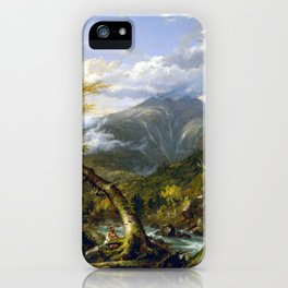 Thomas Cole Indian Pass iPhone Case
