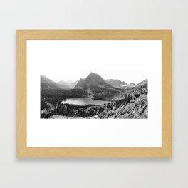 On the Grinnell Glacier Trail Framed Art Print