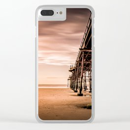 Puddle Striding Clear iPhone Case
