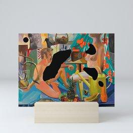 Dana Schutz Set Up Mini Art Print