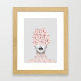 She 01 Framed Art Print