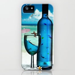 Surrealistic Aquarium iPhone Case