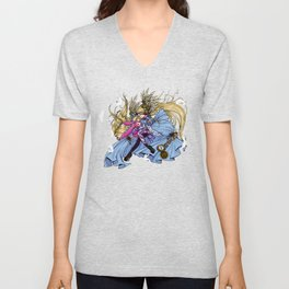 chi in wonderland Unisex V-Neck