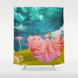 The Rage of Taurus Shower Curtain