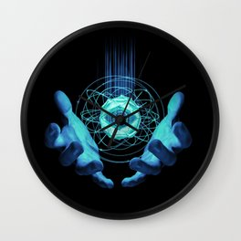 Virtual Reality Check Wall Clock
