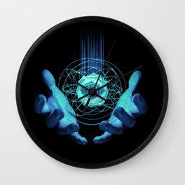 Virtual Reality Check Wall Clock