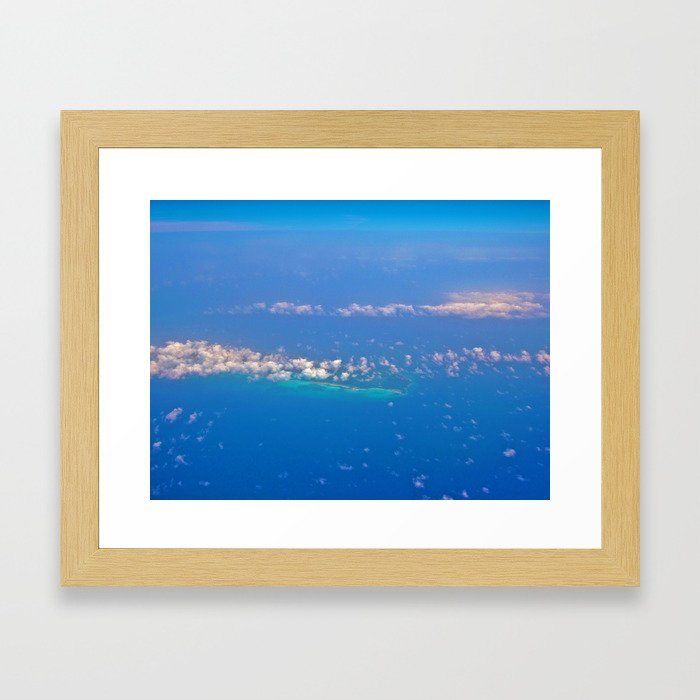 Dreaming Clouds Framed Art Print