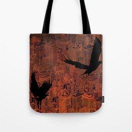 Ecotone (night) Tote Bag