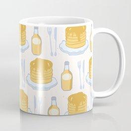 Cute vector pancake day breakfast illustration Coffee Mug