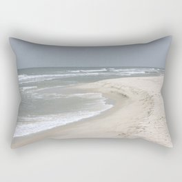 Stormy Ocean water Rectangular Pillow