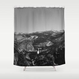 Glacier Point, Yosemite National Park III Shower Curtain