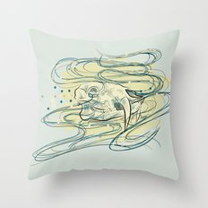 Soul of a Chinese Water Deer Throw Pillow