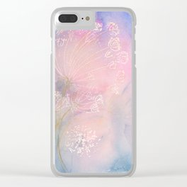 Lacey Evening Clear iPhone Case