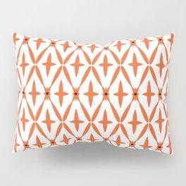 Orange Integration Pattern 1 Pillow Sham