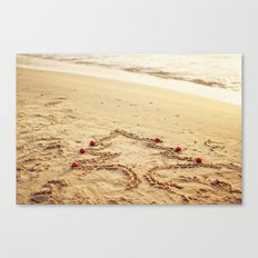 Merry Christmas! - Christmas at the beach Canvas Print