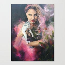 Witch Magic Canvas Print