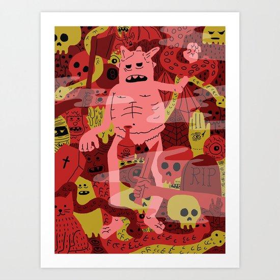Full Dungeon  Art Print