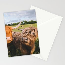 Highland Cows - Blep Stationery Cards