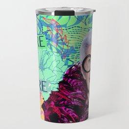 Iris Apfel Travel Mug