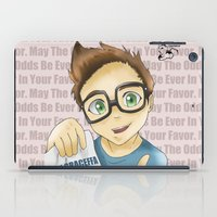 youtube iPad Cases featuring Project Youtube: Joey Graceffa by craziiwolf