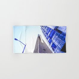 pyramid building and modern building at San Francisco, USA Hand & Bath Towel