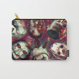 Twisty Jigsaw Jason Voorhees Terminator Psychedelic Spook Show Carry-All Pouch